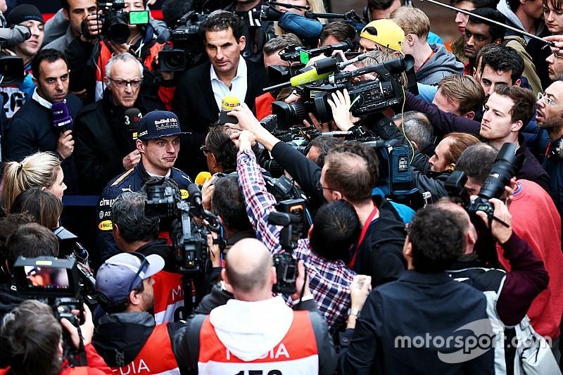 Jos Verstappen suplica a los medios privacidad para su hijo Max