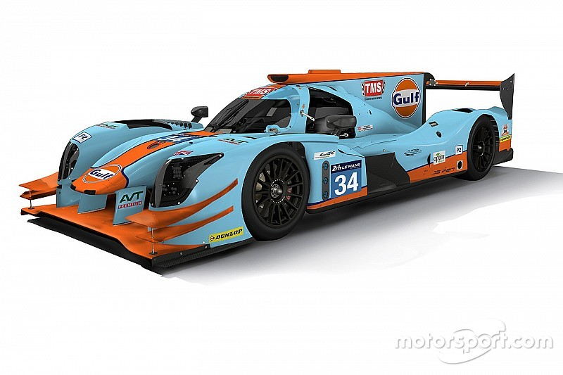 Tockwith to carry famous Gulf colours for Le Mans