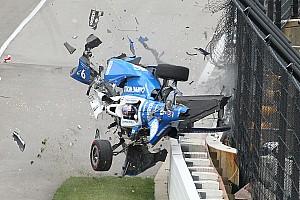 إندي كار  الأكثر تشويقاً بالصور: الحادث المروّع الذي تعرّض له سكوت ديكسون في سباق إندي 500