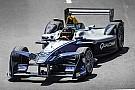 Formula E Patrick Carpentier tuvo un día de prueba en la Fórmula E