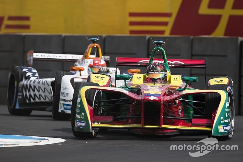 La grille de départ de l'ePrix de Mexico