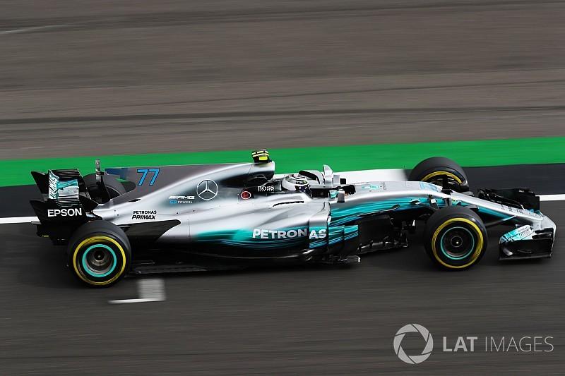 【F1】イギリスFP1:メルセデス、一歩抜け出す? ボッタスが首位