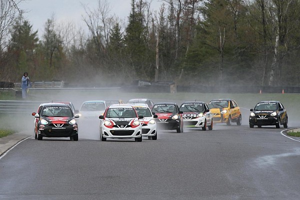 Nissan Micra Cup Kevin King and Xavier Coupal share victories in Calabogie