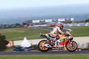 MotoGP Qualifying report Australian MotoGP: Marquez takes pole, Rossi slumps to 15th