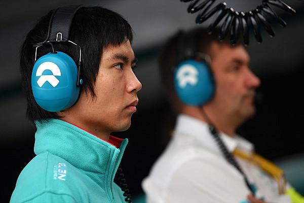 Ma substitui Filippi na NIO no ePrix de Paris