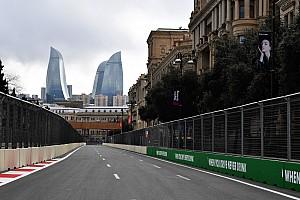Формула 1 Прямой эфир Онлайн Гран При Азербайджана: первая тренировка