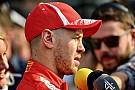 Para Vettel, el auto de seguridad entró en el momento