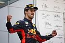 リカルド「最悪なレースを忘れさせてくれるだけの1勝だった」