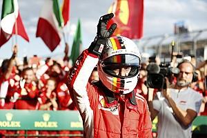 Fórmula 1 Noticias Llueven felicitaciones para Vettel y Ferrari en redes sociales
