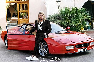 Auto Actualités La Ferrari 512 TR de Johnny Hallyday aux enchères