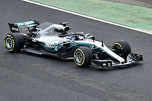 New Mercedes W09 revealed at Silverstone