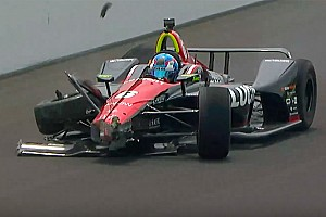 IndyCar Últimas notícias VÍDEO: Wickens bate durante treino para a Indy 500