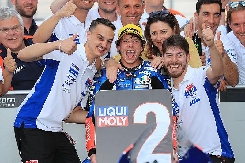 Mondiale Moto3 2018: Bezzecchi allunga a +19 su