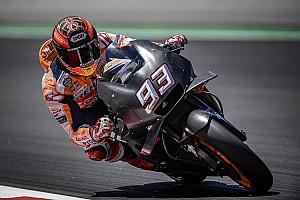 MotoGP Résumé d'essais Essais Montmeló - Márquez meilleur temps sur le fil