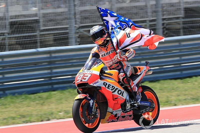 MotoGP Austin: Marquez triumphiert - Rossi verpasst Podest