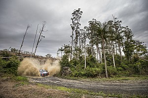 WRC Stage report Australia WRC: Neuville still leading, Breen crashes heavily