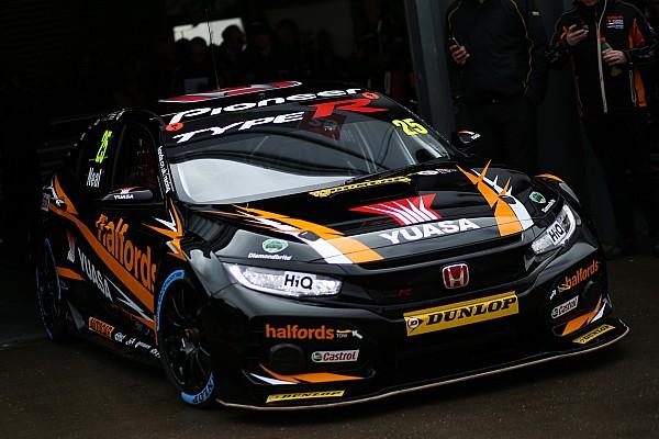 BTCC Thruxton BTCC: Neal sets new lap record en route to pole