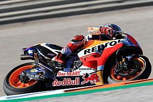 MotoGP Crónica de test Márquez vuela en Valencia y le saca más de un segundo a Dovizioso