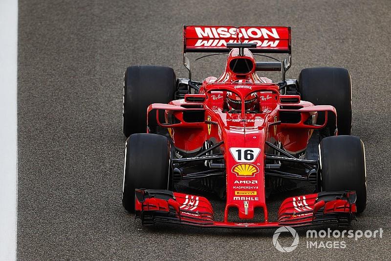 Fotogallery F1: Charles Leclerc fa il suo esordio da pilota titolare Ferrari ad Abu Dhabi