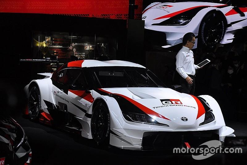 トヨタ、スープラのスーパーGTコンセプトモデルを東京オートサロンで発表