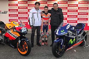 Honda saluta Pedrosa con un regalo speciale: una RC212V e la 250cc con cui è stato campione
