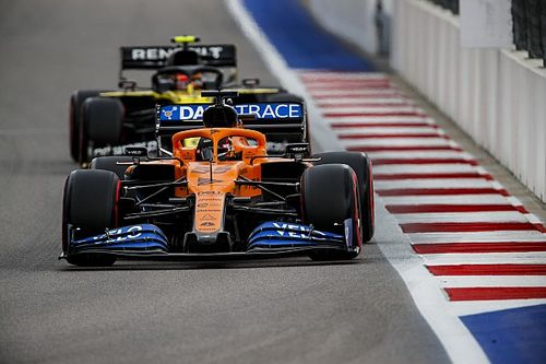 Sainz explains McLaren's drop of form in Sochi qualifying
