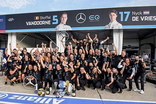 Mercedes żegna Formułę E