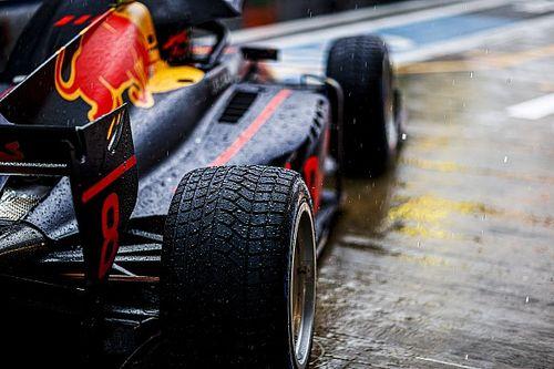 F2ソチ:強い雨が降り続くソチ。レース1の延期が決定