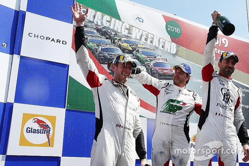 Carrera Cup Italia, Mardini campione in Michelin Cup a Vallelunga: