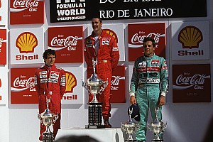 30 anos: Relembre último GP de F1 no Rio com vitória de Ferrari revolucionária