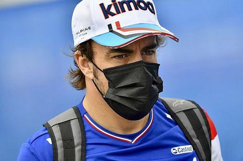 Alonso megelőzte mindkét Ferrarit, elégedett a 8. hellyel