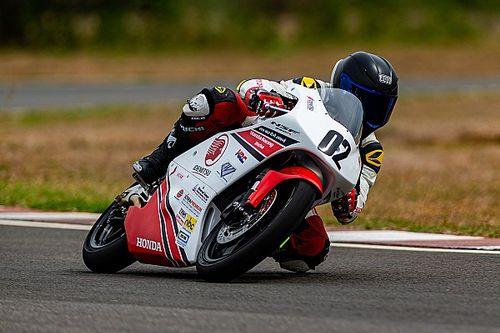 Rider shares experience of racing Honda Moto3 bike in India