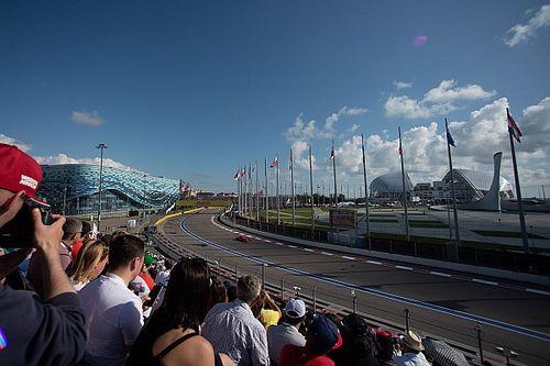 Organização do GP da Rússia prevê venda de ingressos para cerca de 30 mil fãs em Sochi