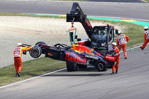 """F1: Marko diz que Pérez é """"claramente culpado"""" por toque com Ocon em Ímola"""