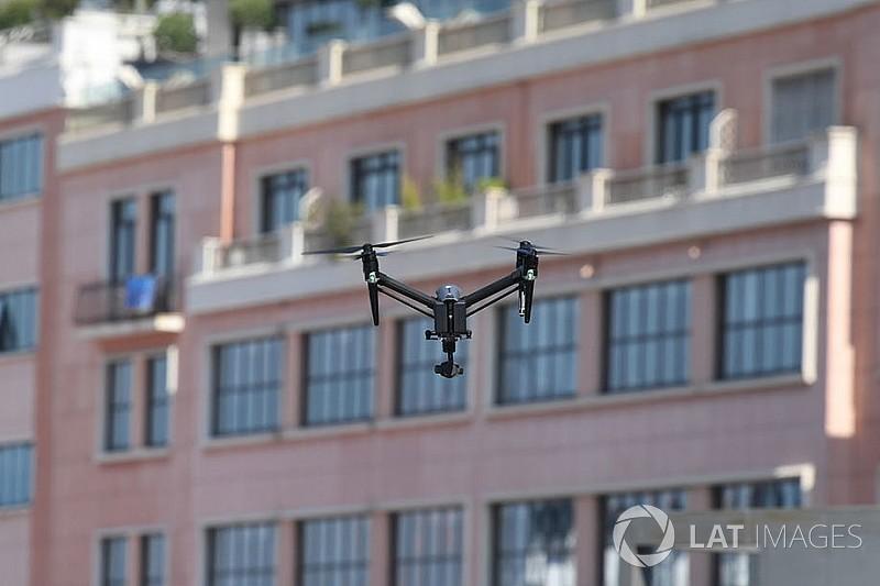 El uso de drones amenaza con parar las carreras en la Isla de Man