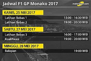 Formula 1 Special feature Jadwal lengkap F1 GP Monako 2017