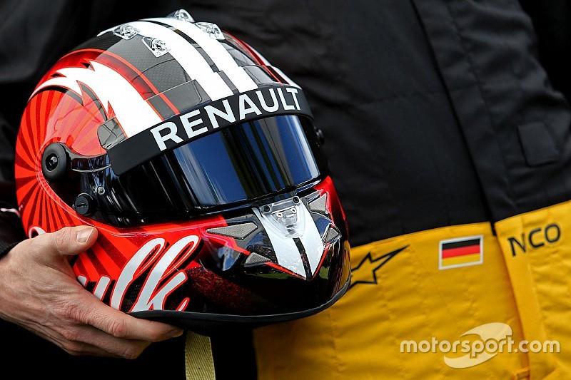 Formel 1 2017: Neues Helmdesign für Renault-Pilot Nico Hülkenberg