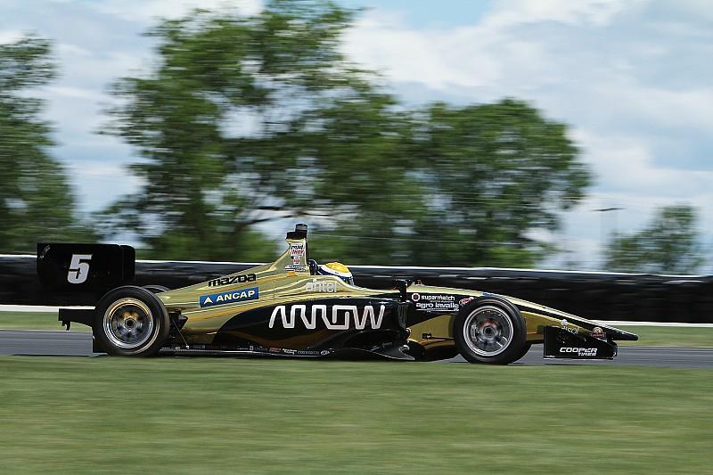 Urrutia logra la pole para la carrera 1 de Mid-Ohio