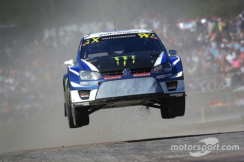 Sweden WRX: Kristoffersson leads Loeb on home soil