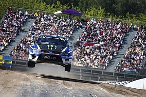 World Rallycross Réactions Solberg :