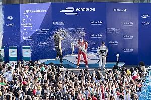 Formula E Reporte de la carrera Di Grassi remontó para ganar en una caótica carrera en México