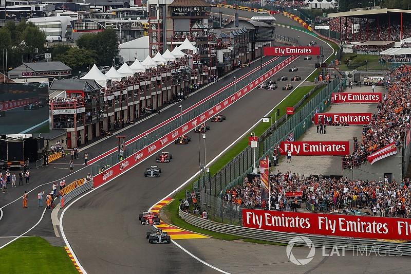 La Fórmula 1 confirma la renovación del GP de Bélgica en Spa