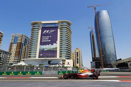 Baku, Libere 1: due Red Bull davanti, la Ferrari bene con le Soft