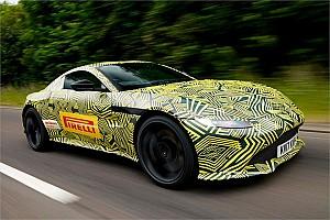 F1 Noticias de última hora Vídeo: Max Verstappen probó el nuevo Aston Martin Vantage