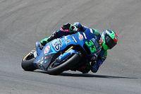 Moto2, Brno, Libere 2: zampata di Bastianini, terzo Marini