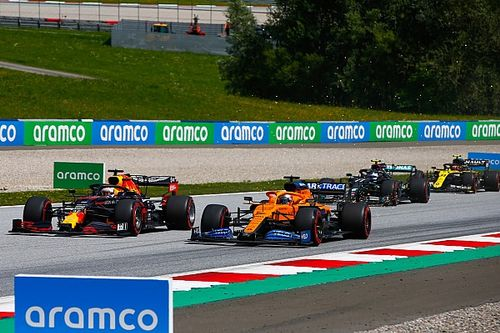 2020 F1 Styrian Grand Prix race results