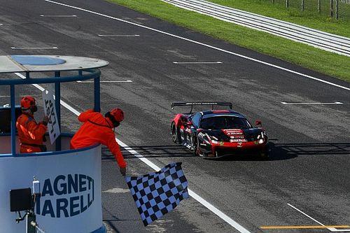 GT Sprint: Greco-Crestani trionfano in Gara 1 con la Ferrari