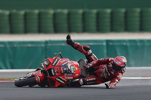 "Bagnaia's Misano MotoGP race was ""win or gravel"""