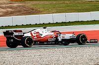 Alfa Romeo: ecco Kubica nel filming day a Barcellona