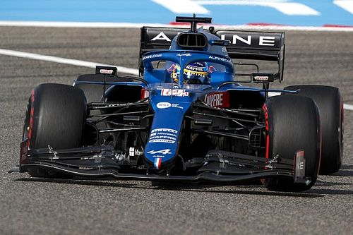 "Alpine ""scared"" itself in Bahrain with hot-weather struggles"